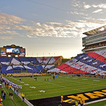 Pre-game Card Stunt Iowa vs. Northwestern